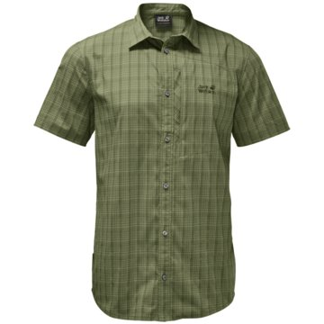 JACK WOLFSKIN KurzarmhemdenRAYS STRETCH VENT SHIRT MEN - 1401552 grün