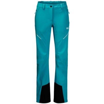 JACK WOLFSKIN OutdoorhosenGRAVITY SLOPE PANTS WOMEN - 1504143-1221 blau
