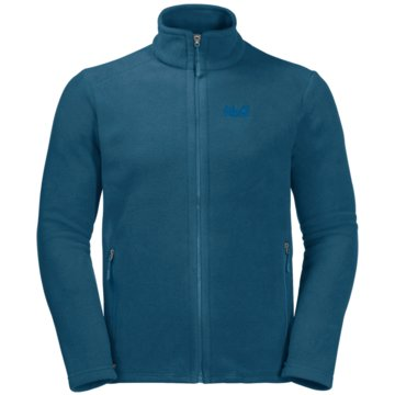 JACK WOLFSKIN SweatjackenMIDNIGHT MOON MEN - 1703853-1350 blau
