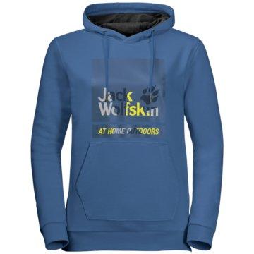 JACK WOLFSKIN Pullover365 HIDEAWAY HOODY W - 1708871-1300 blau