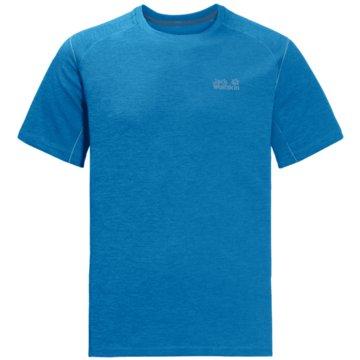 JACK WOLFSKIN T-ShirtsHYDROPORE XT MEN - 1806131 blau