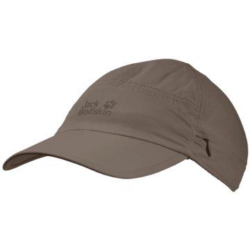JACK WOLFSKIN CapsSUPPLEX CANYON CAP - 1905891 braun