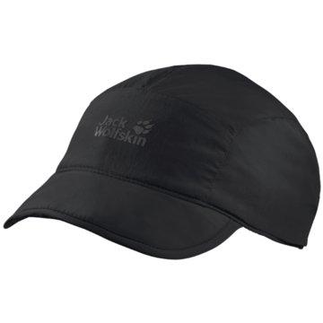 JACK WOLFSKIN CapsSUPPLEX ROAD TRIP CAP - 1906781 schwarz