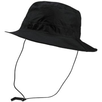 JACK WOLFSKIN HüteTEXAPORE ECOSPHERE RAIN HAT - 1907501 schwarz