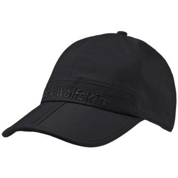 JACK WOLFSKIN CapsHUNTINGTON CAP - 1907552 schwarz