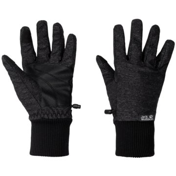 JACK WOLFSKIN FingerhandschuheWINTER TRAVEL GLOVE WOMEN - 1907881-6000 schwarz