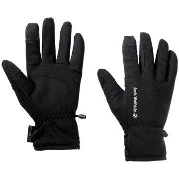 JACK WOLFSKIN FingerhandschuheSTORMLOCK HYDRO GLOVE - 1909161-6000 schwarz