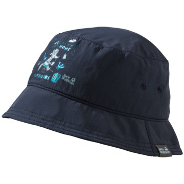 JACK WOLFSKIN HüteSUPPLEX AT HOME BUCKET KIDS - 1909491 blau