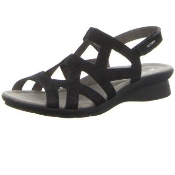Mephisto Komfort Sandale schwarz