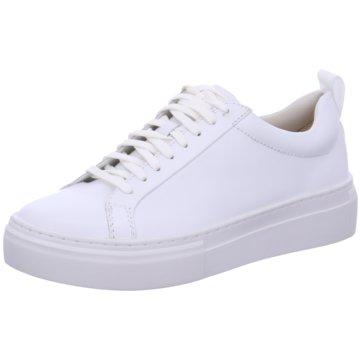 Vagabond Plateau Sneaker weiß