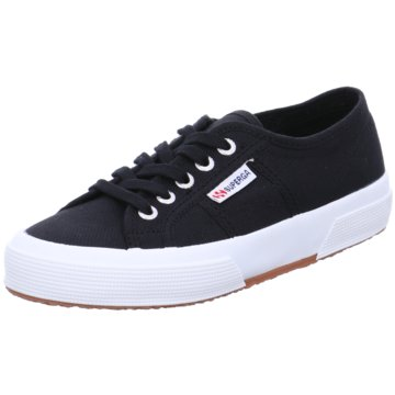 Superga Sneaker Low schwarz