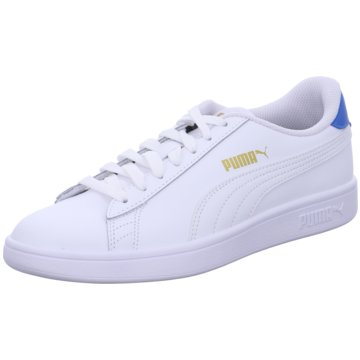 Puma Sneaker Low SMASH V2 L - 365215 weiß