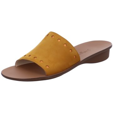 Paul Green Klassische Pantolette gelb