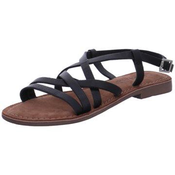 Lazamani Sandalette schwarz