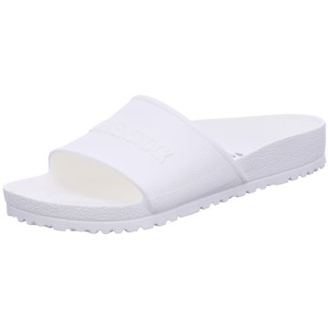 Birkenstock Badelatsche weiß
