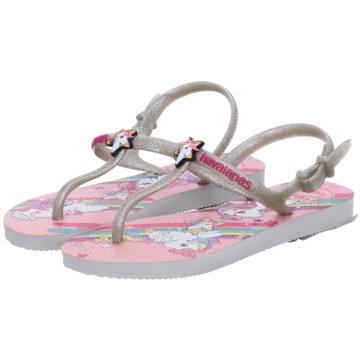 Havaianas Offene Schuhe rosa