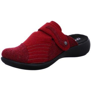Westland Komfort Pantolette rot