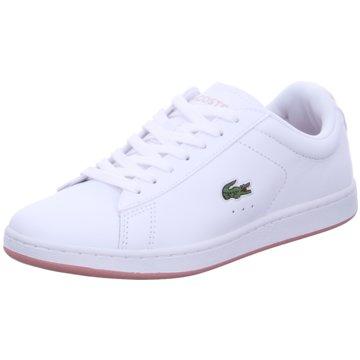 Lacoste Sneaker LowCARNABY EVO 0721 2 SFA weiß