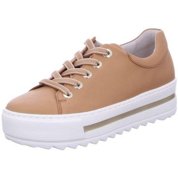 Gabor comfort Plateau Sneaker braun