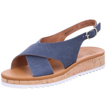 Paul Green Top Trends Sandaletten blau