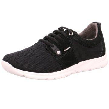 Geox Sneaker Low schwarz