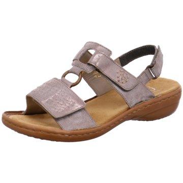 Rieker Komfort SandaleSandale grau