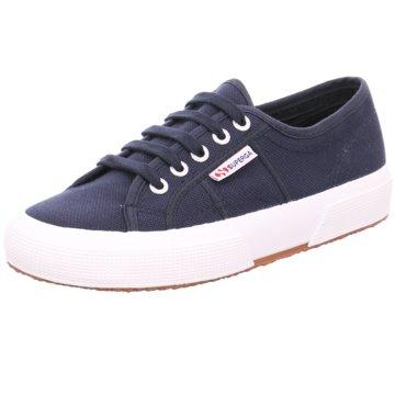 Superga Plateau Sneaker2750 Cotu blau