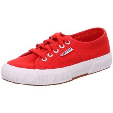 Superga Sneaker LowCotu rot