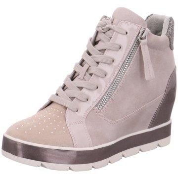 Tamaris Sneaker Wedges rot