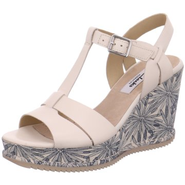 Clarks Sandalette beige