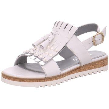 Maripé Top Trends Sandaletten weiß