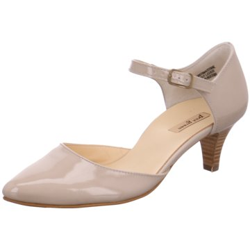 Paul Green Riemchenpumps beige