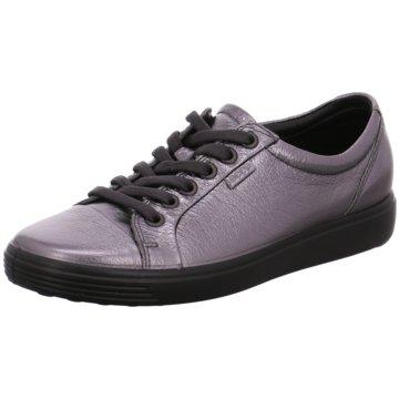 Ecco Sneaker LowSoft 7 silber