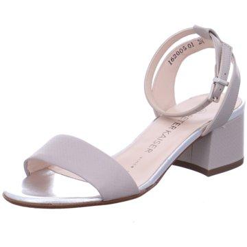 Peter Kaiser Modische Sandaletten grau