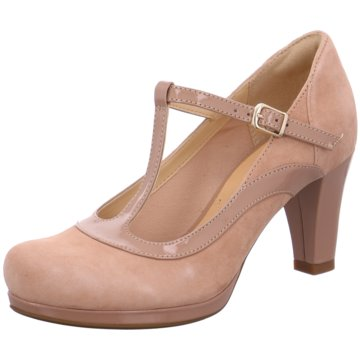 Clarks Modische Pumps beige Chorus Pitch
