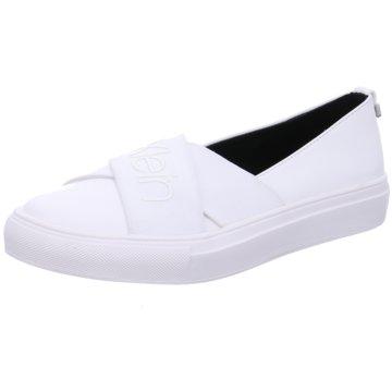 Calvin Klein Sportlicher Slipper weiß