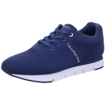 Calvin Klein Sportlicher Schnürschuh blau