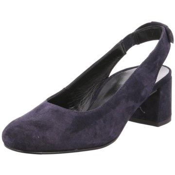 Paul Green Slingpumps blau