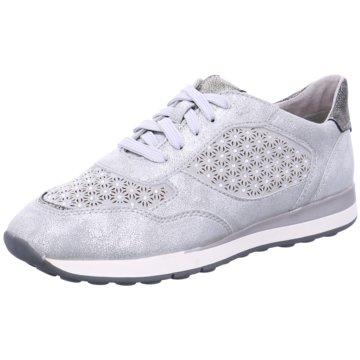 Fashion Freizeitschuhe Damen Schuhe Sneaker 7981 Grau Silber 37
