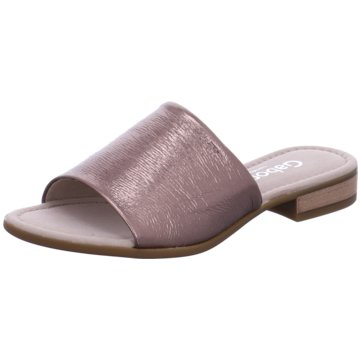 Gabor Klassische Pantolette rosa
