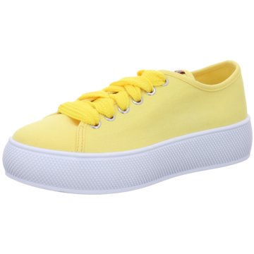 Esprit Plateau Sneaker gelb