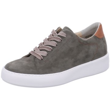 Paul Green Plateau Sneaker grün