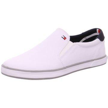 Tommy Hilfiger SlipperIconic Slip On Sneaker weiß