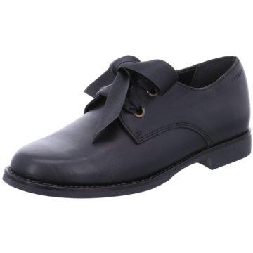 Esprit Eleganter Schnürschuh schwarz