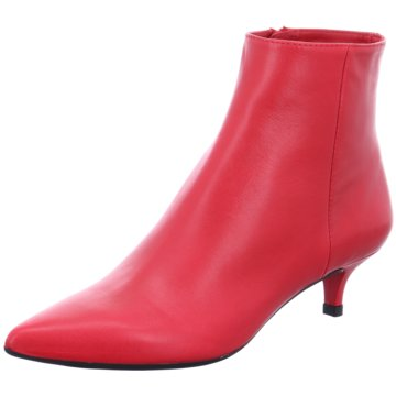 Unisa Klassische Stiefelette rot