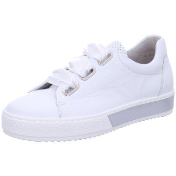 Gabor comfort Sportlicher SchnürschuhFlorenz weiß