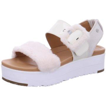 UGG Australia Sandalette weiß