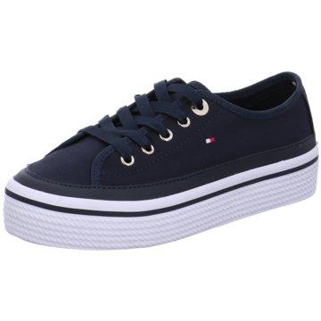 Tommy Hilfiger SneakerCorporate Flatform S blau