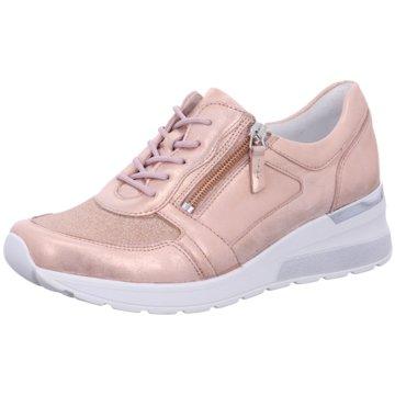 Waldläufer Komfort Schnürschuh rosa