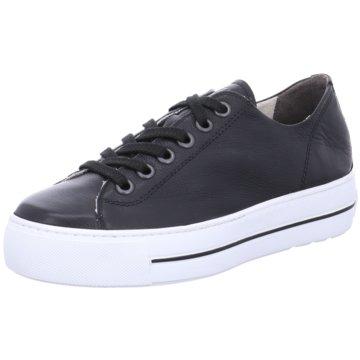 Paul Green Plateau Sneaker schwarz